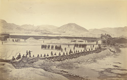 The laager and abattis, N. West corner Sherpur [Kabul].
